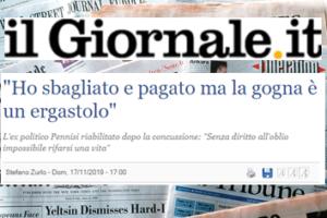 """Intervista a Camillo Milko Pennisi di Stefano Zurlo per """"il Giornale"""", 17 novembre 2019"""