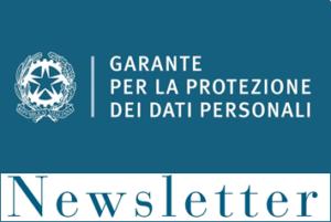 newsletter del Garante della Privacy